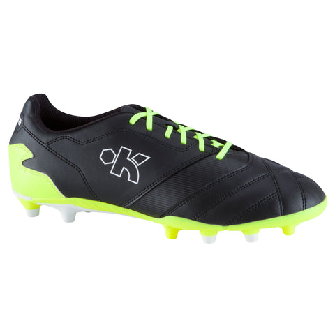 Soccer Firm Ground Shoes Density FG 300,black