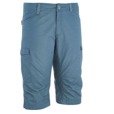 Quechua NH500, 3/4 Hiking Pants, Men's,gray