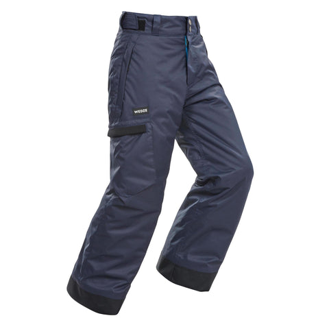 Wedze SNB 500, Skiing and Snowboarding Pants, Kids,abyss gray