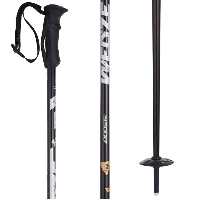 Men's Ski Poles Boost 100,black, photo 1 of 5