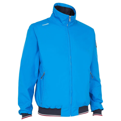 Men's Sailing Jacket 100,turquoise blue