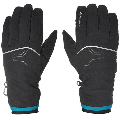 Hiking Windproof Tactile Gloves Forclaz 700,