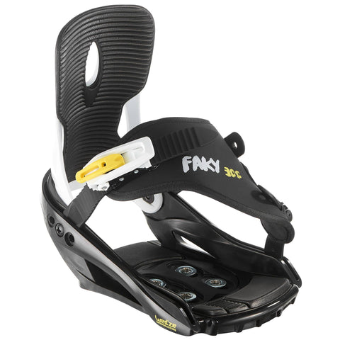 Junior Snowboard Bindings, Faky 300,black