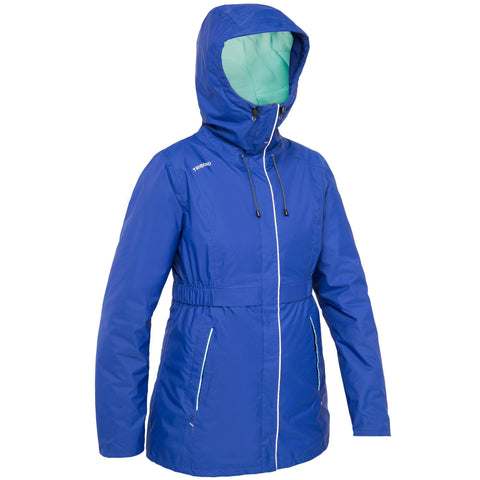 Women's Sailing Warm Oilskin 100,dark blue