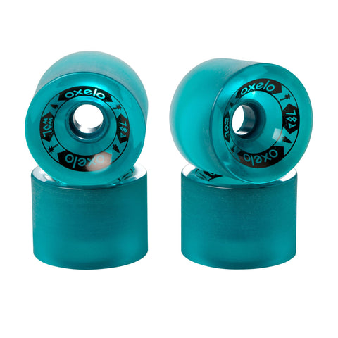 4 x 70 mm 78A Wheels,green