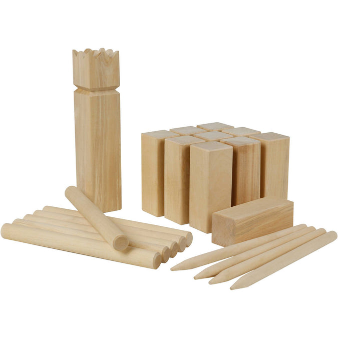 Kubb Set,light brown, photo 1 of 5
