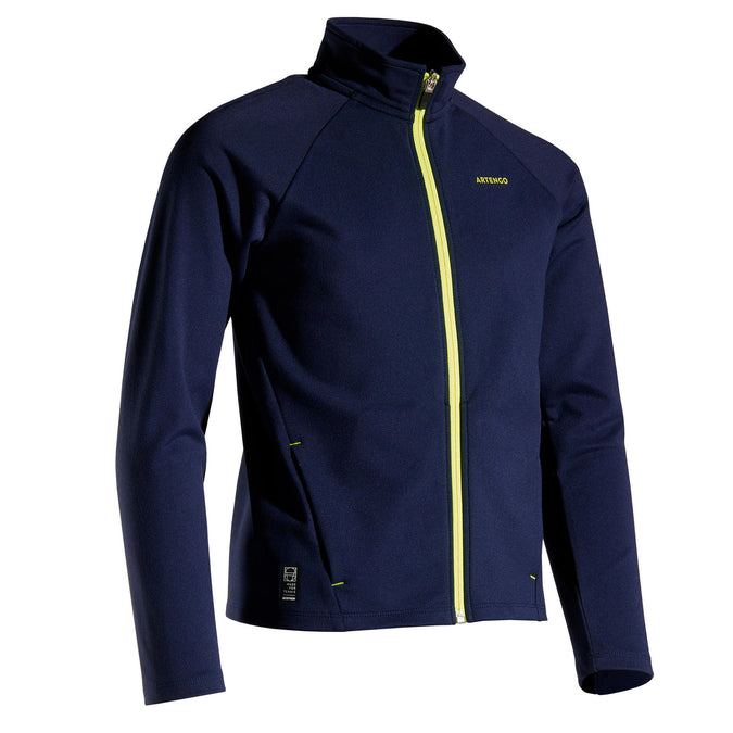 Boys' Thermal Jacket 500,midnight blue, photo 1 of 10