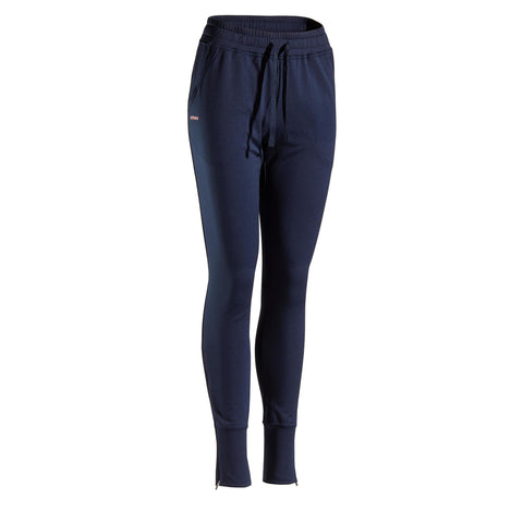 Women's Tennis Bottoms PA TH 500,midnight blue