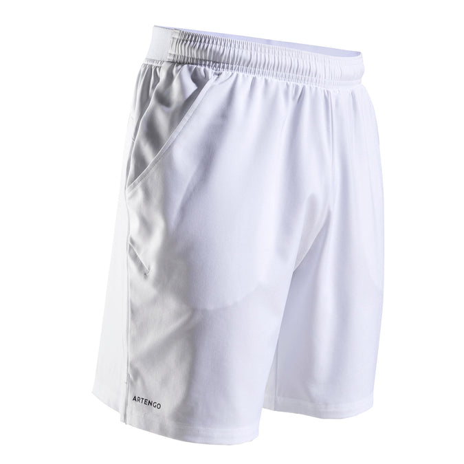 Men's Tennis Shorts TSH 500 Dry,snowy white, photo 1 of 10