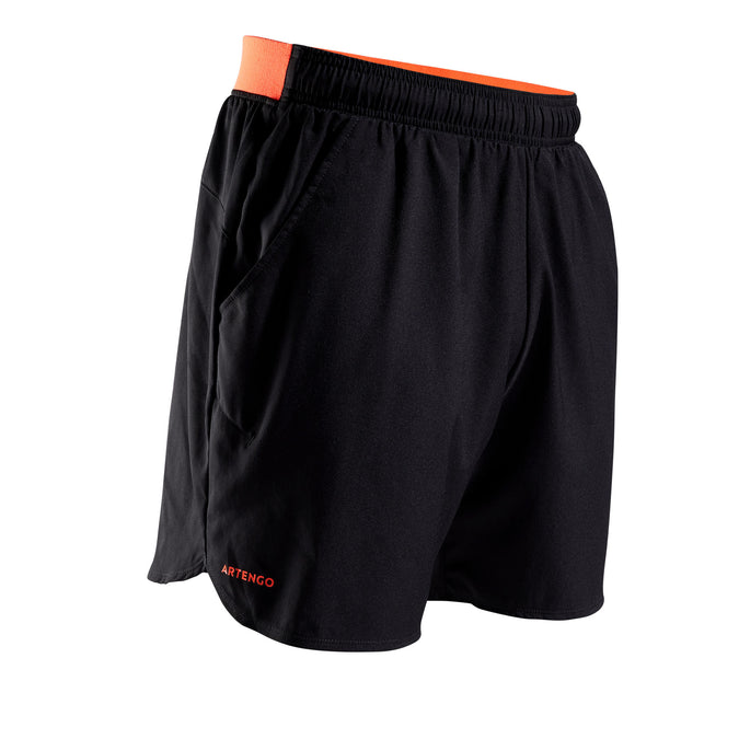Men's Tennis Shorts TSH 500 Dry,orange, photo 1 of 11