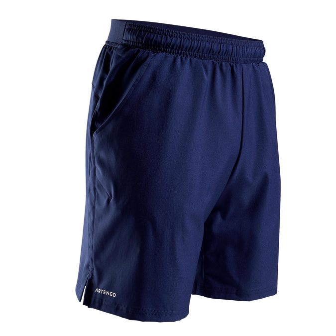 Men's Tennis Shorts TSH 500 Dry,navy blue, photo 1 of 10
