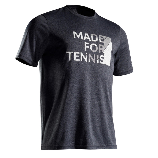 Tennis T-Shirt Soft 100,granite, photo 1 of 10
