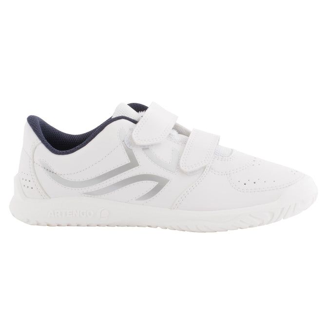 Kids' Tennis Shoes Grip TS100,white, photo 1 of 20