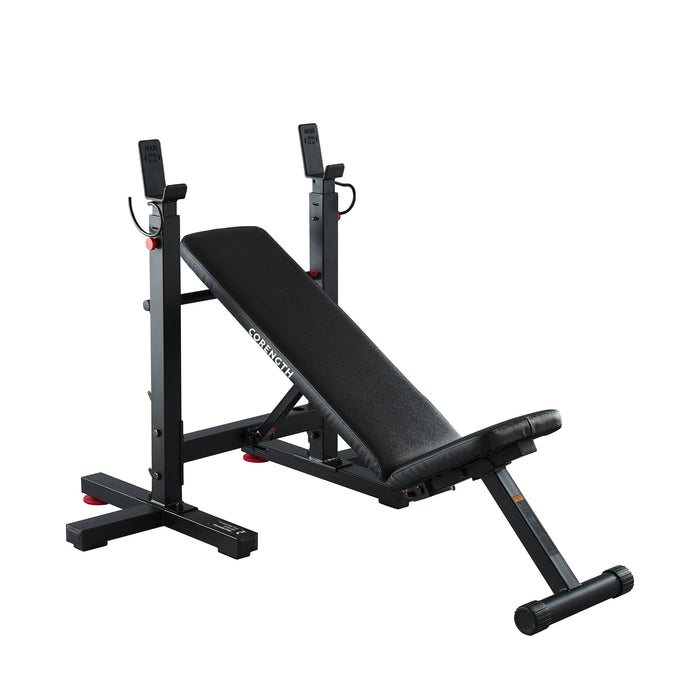 Domyos Folding Incline Bench Press with Rack, photo 1 of 9