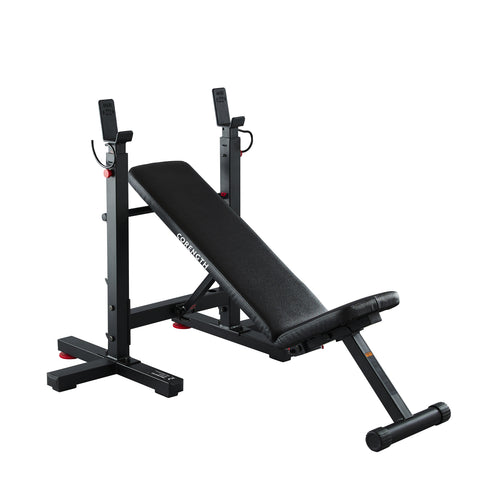 Domyos Folding Incline Bench Press with Rack