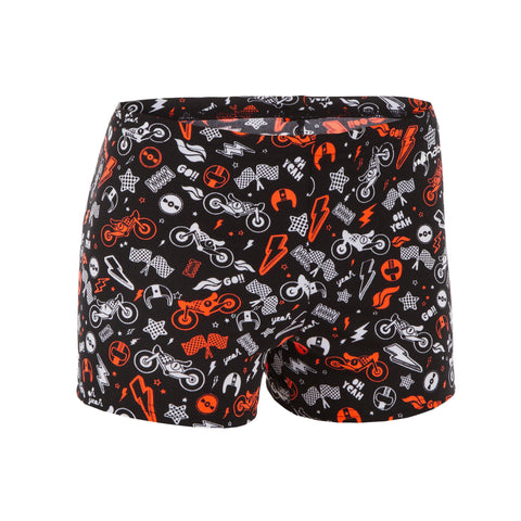 Boy's Swimming Boxer Shorts Fit 500,