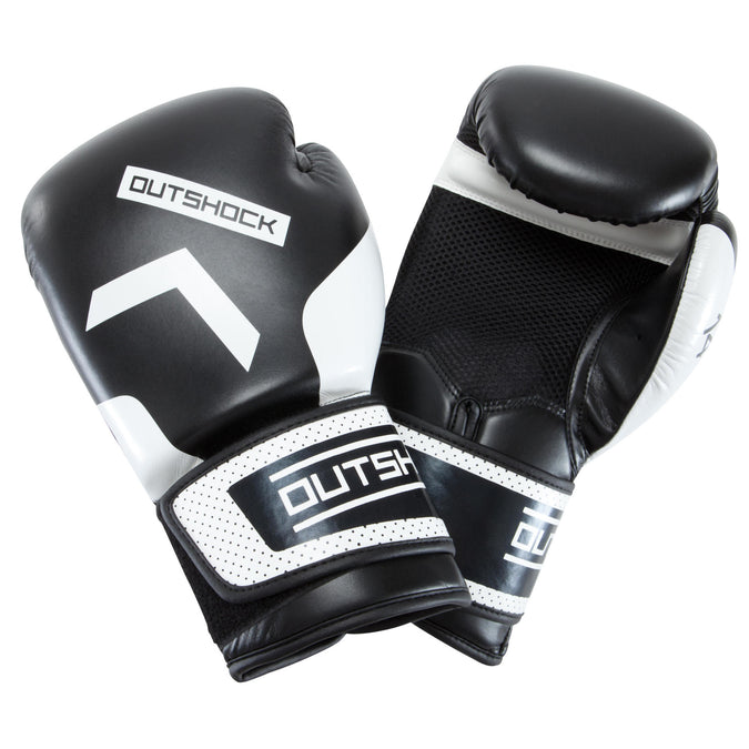 Adult Boxing Beginner Training Gloves 300,black, photo 1 of 16
