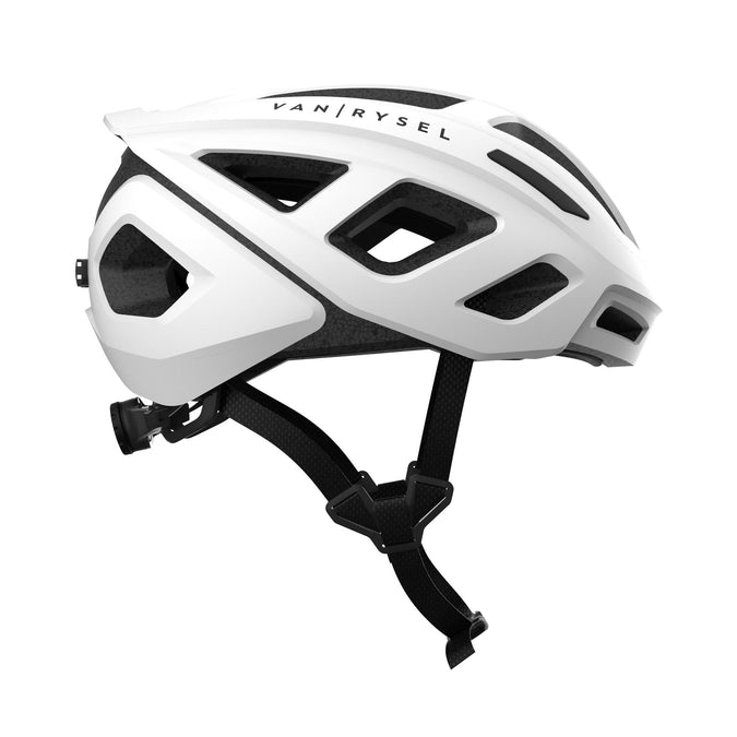 Van Rysel 500, Road Cycling Helmet,white, photo 1 of 5