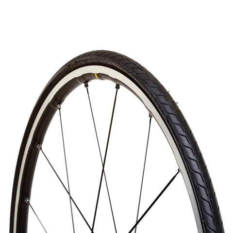 Btwin Road Bike Tire 700 x 25,base color