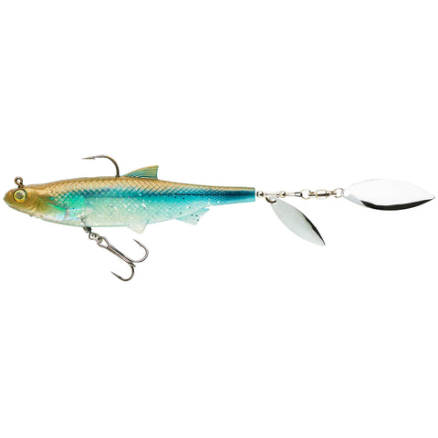Lure Fishing Roach Spintail Shad Soft Lure Blue Back Roachspin 120,sky blue