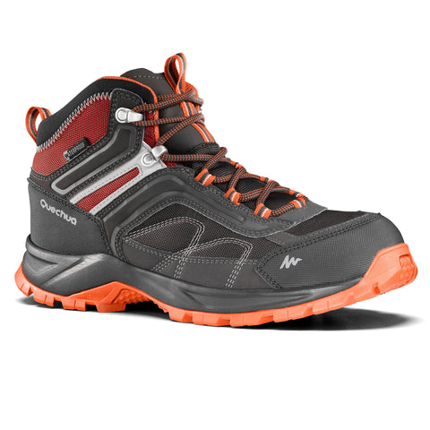 Men's Hiking Shoes Mid Waterproof MH100,