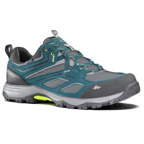 Men's Mountain Hiking Waterproof Shoes - MH100,