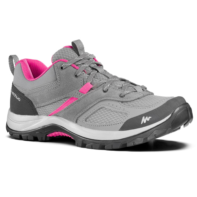 Women's MH100 Hiking Shoes,pewter, photo 1 of 7