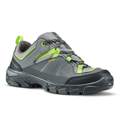 Kids Hiking Low Lace-Up Shoes 3.5 to 6 MH120,
