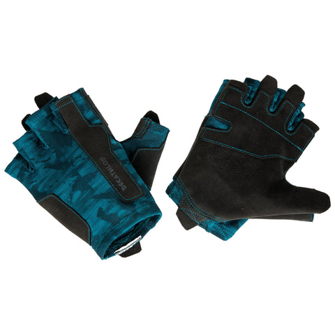 Weight Training Glove,peacock blue