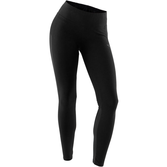 Women's Pilates and Gentle Gym Slim-Fit Leggings 520,black, photo 1 of 7