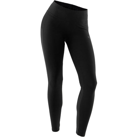 Women's Pilates and Gentle Gym Slim-Fit Leggings 520,black
