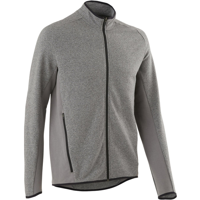 Gentle Gym and Pilates Hooded Jacket 500,gray, photo 1 of 7
