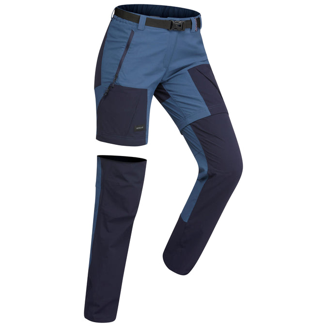 Women's Trek 500 Convertiible Hiking Pants,slate blue, photo 1 of 8