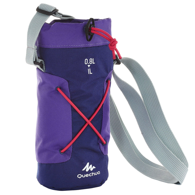 Hiking Bottle Isothermal Cover 0.75 to 1 Liter,violet, photo 1 of 4