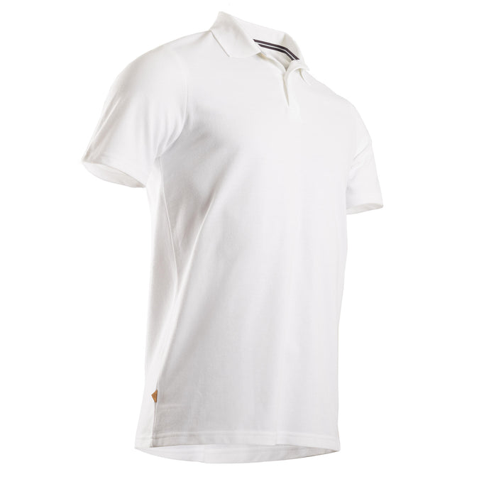 Men's Golf Short-Sleeved Polo Shirt,snowy white, photo 1 of 8