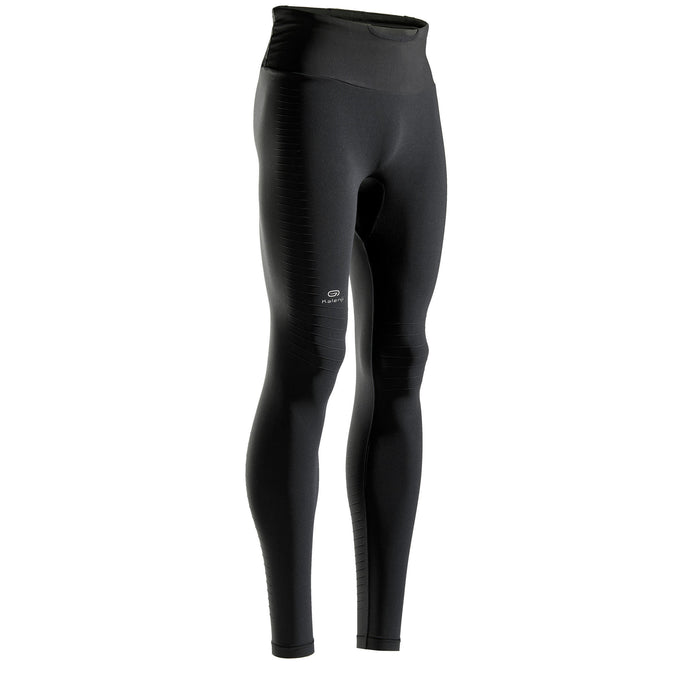 Kiprun Light, Running Tights with Built-in Carry System, Men's,black, photo 1 of 7