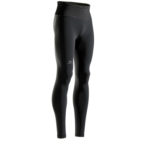 Kiprun Light, Running Tights with Built-in Carry System, Men's,black