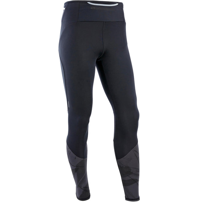 Men's Trail Running Tights,black, photo 1 of 10