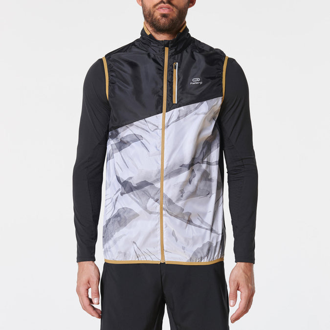 Men's Sleeveless Trail Jacket,white, photo 1 of 10