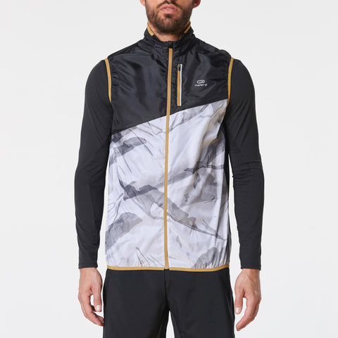 Men's Sleeveless Trail Jacket,white