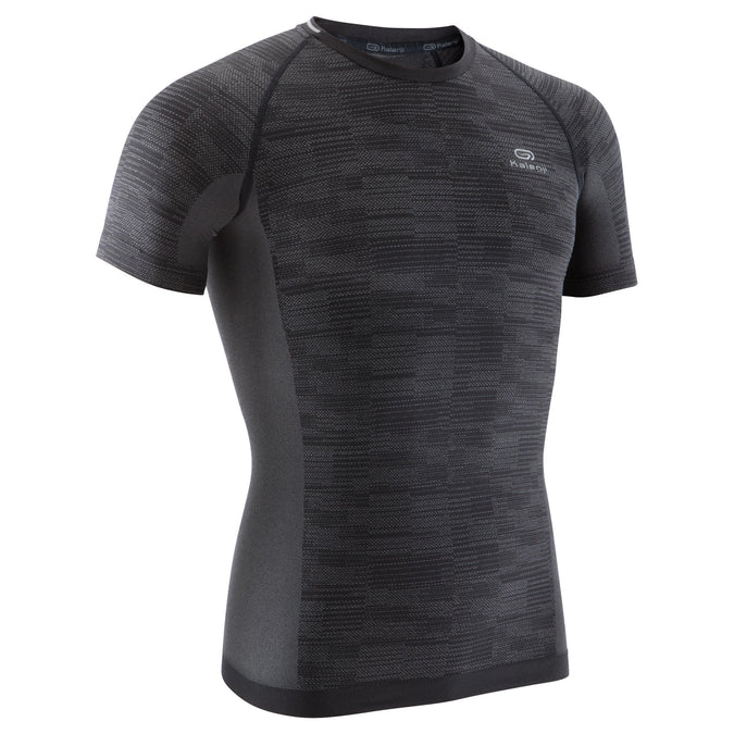 Men's Running T-Shirt Skincare Kiprun,black, photo 1 of 13