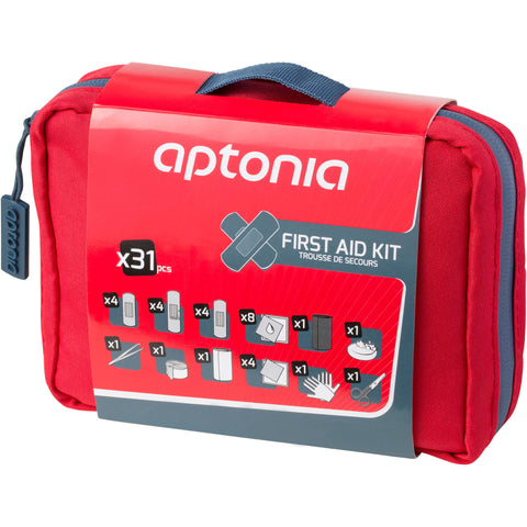 300 First Aid Kit - Red,red