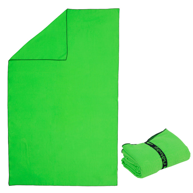 Microfiber Towel L,neon lime, photo 1 of 4