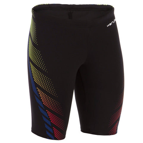 Boy's Swim Shorts Jammer 500,black