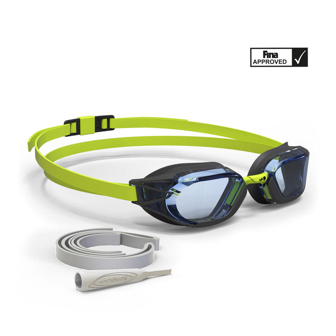 Swimming Goggles B-Fast 900,neon lemon lime, photo 1 of 8
