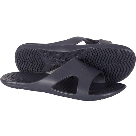 Men's Pool Sandals Basic Slap 100,dark grey