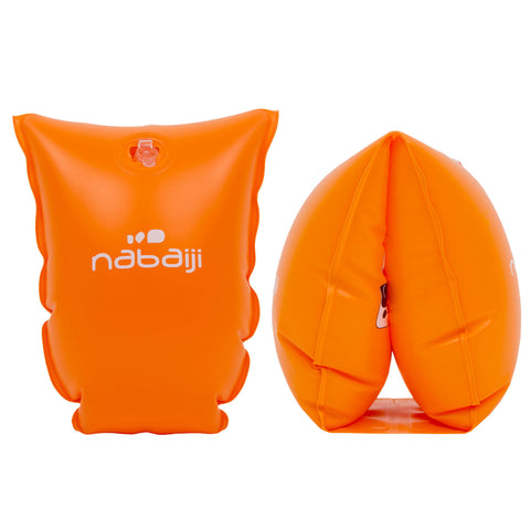 Children's Swimming Armbands 25-65 lbs,neon orange