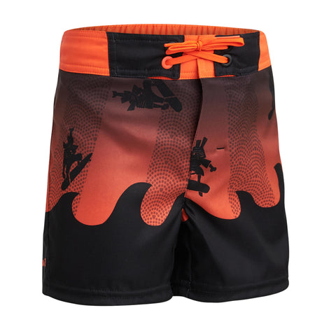 Olaian 500, Surfing Boardshorts, Kids',red