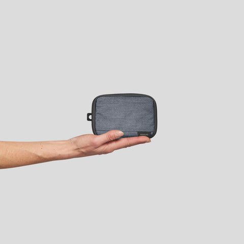 Forclaz Small Travel Organizer,steely gray