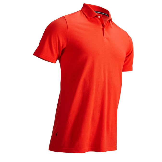Men's Golf Polo Shirt,coral red, photo 1 of 8